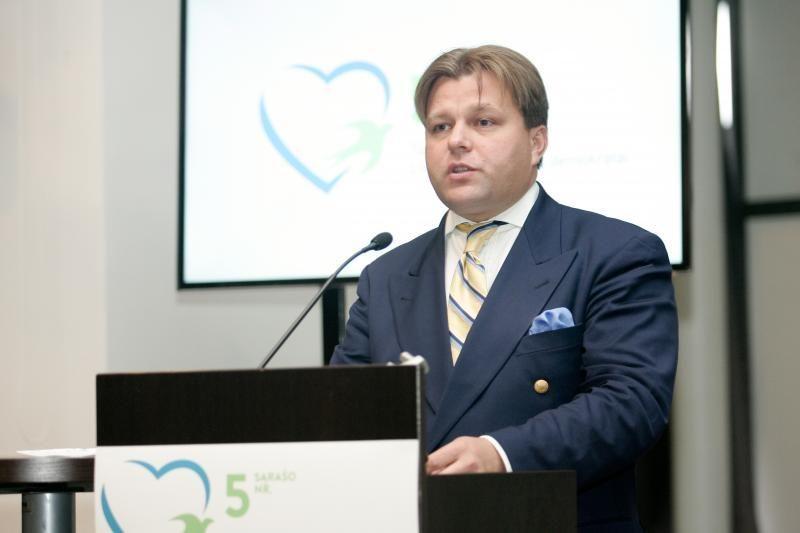 Vilniaus konservatorių lyderiu perrinktas M. Adomėnas