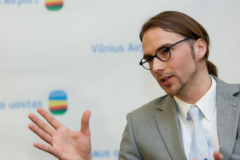 Vilniaus oro uosto vadovas: esu nelaimingai įsimylėjęs Lietuvą