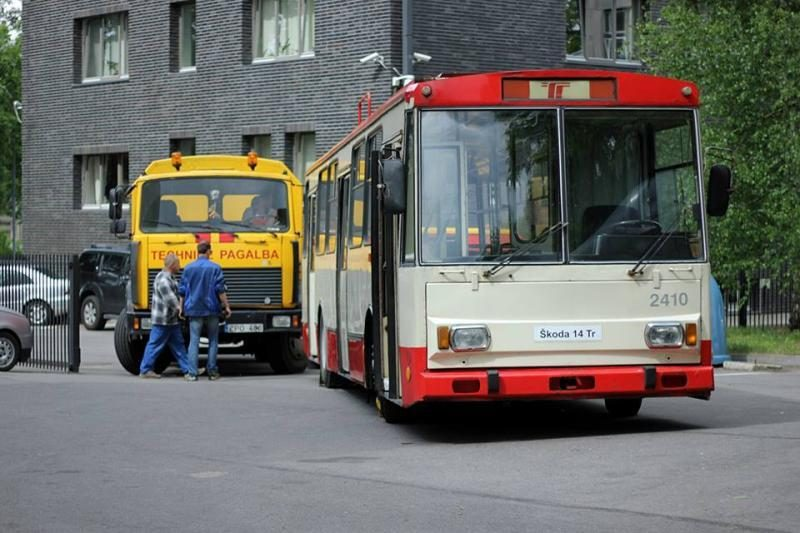 Milijoną kilometrų nuvažiavęs troleibusas – jau muziejuje (foto)