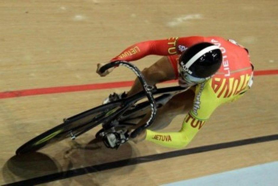 Svajūnas Jonauskas - pasaulio jaunių dviračių treko čempionas!