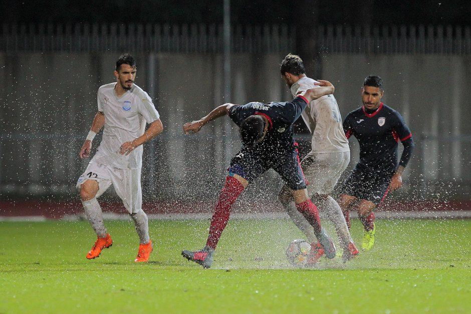 """Europos lyga: """"Stumbras"""" – """"Apollon"""" 1:0"""