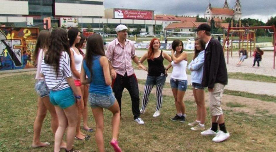 Manekenės šokių aikštelėje gatvės šokėjų nesužavėjo