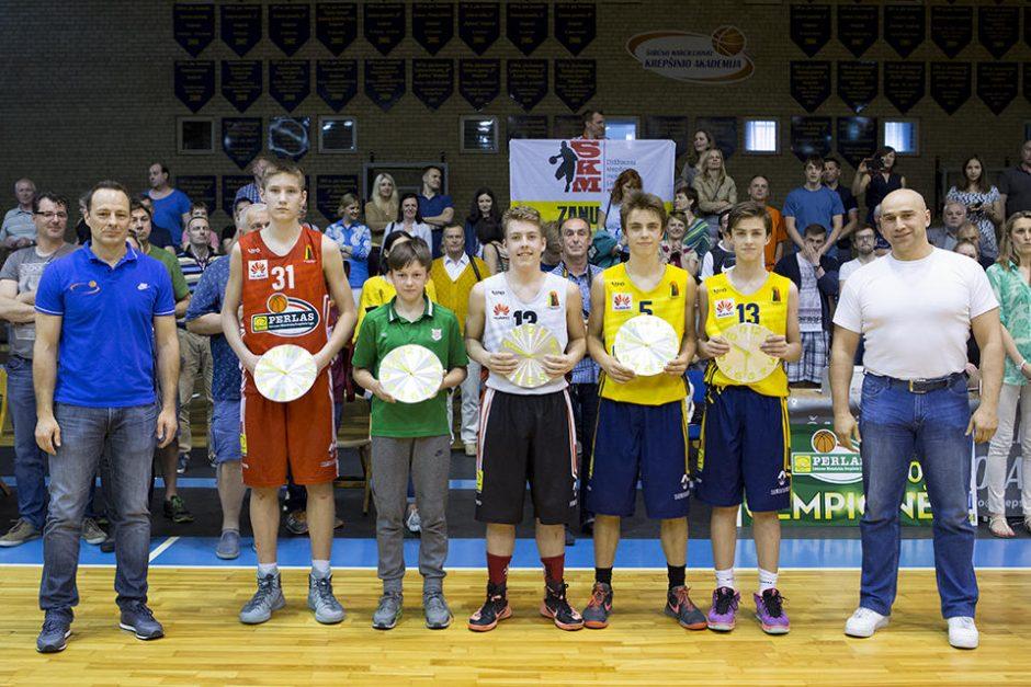 Paaiškėjo Moksleivių krepšinio lygos nugalėtojai