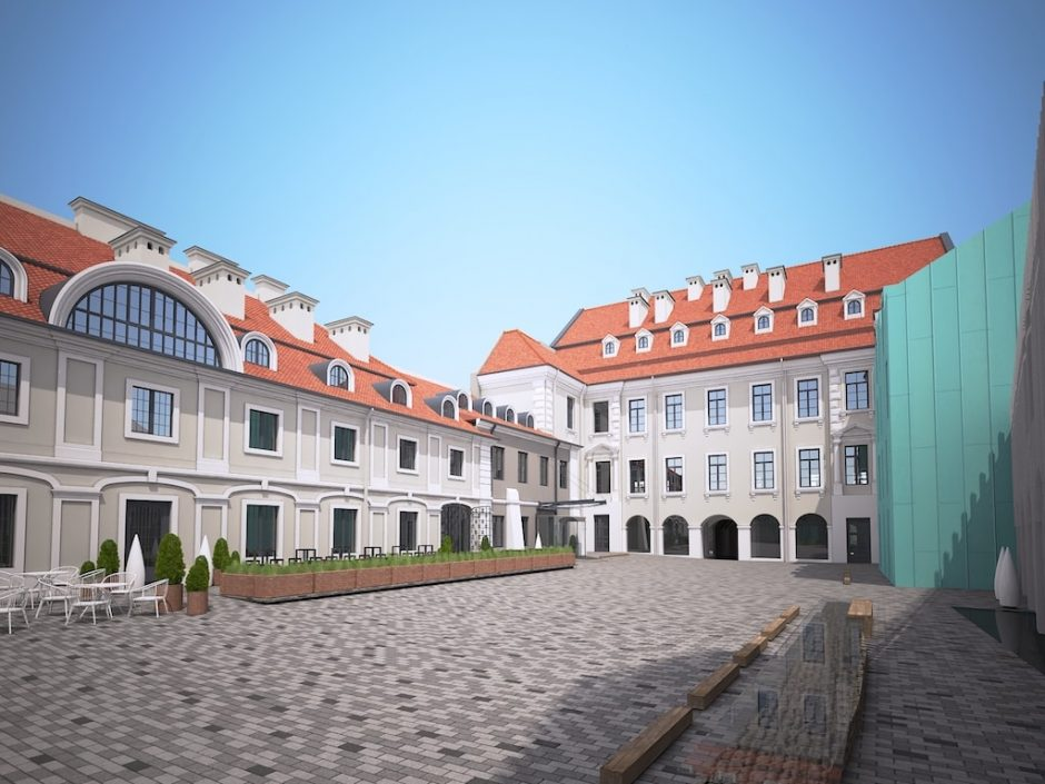 Atgimsta istoriniai sostinės Pacų rūmai