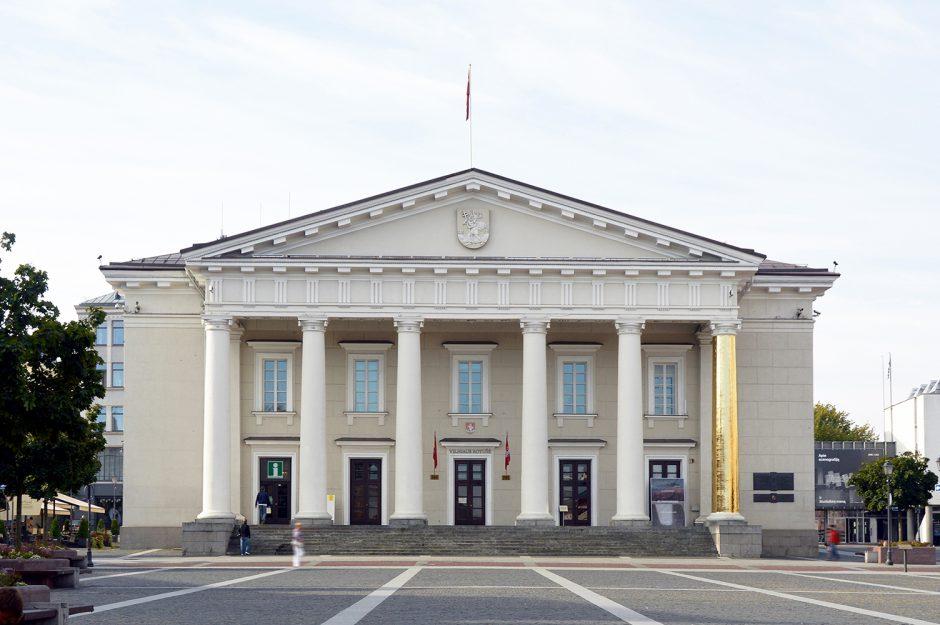 Auksinė Vilniaus Rotušės kolona. Ką ji slepia?