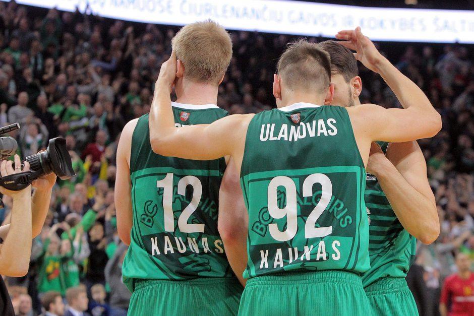 Š. Jasikevičius: ačiū sirgaliams, o komanda kaunasi kaip išprotėjusi