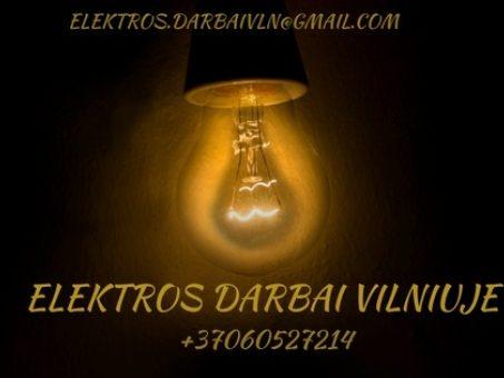 Skelbimas - Elektriko paslaugos Vilniuje