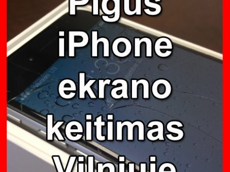 Skelbimas - iPhone ekrano keitimas Vilnius