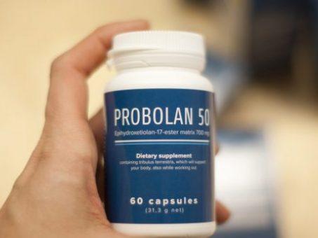 Skelbimas - Probolan 50 žaibiškai padidinsi savo raumenų masę