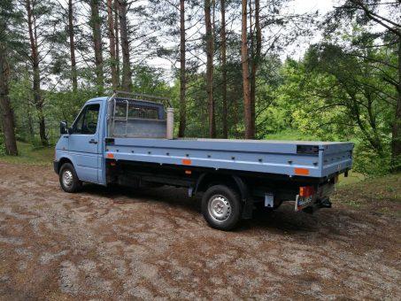 Skelbimas - Krovininių mikroautobusų nuoma / be vairuotojo