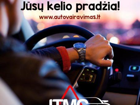 Skelbimas - JTMC vairavimo mokyklos