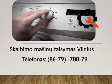 Skelbimas - Skalbimo masinu taisymas Vilnius 867978879