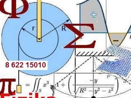 Skelbimas - Matematika, fizika, chemija  - pagalba studentams