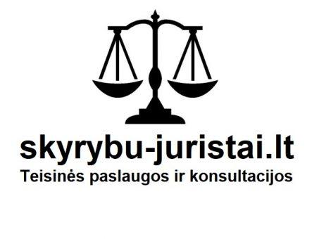 Skelbimas - www.skyrybu-juristai.lt