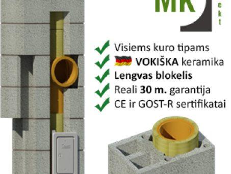 Skelbimas - MK Kolekt kaminai