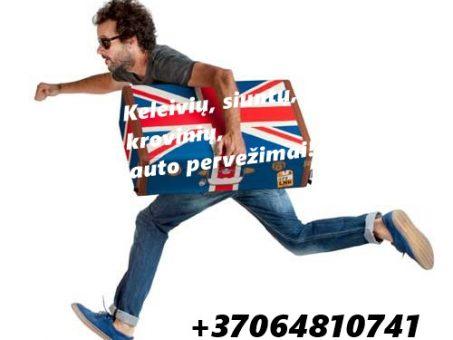Skelbimas - Lietuva - Anglija pervežimai   +37064810741