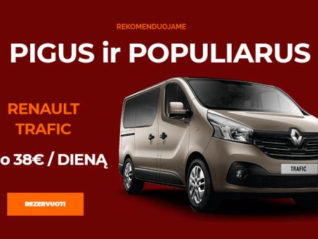 Skelbimas - Mikroautobusų nuoma Kaune