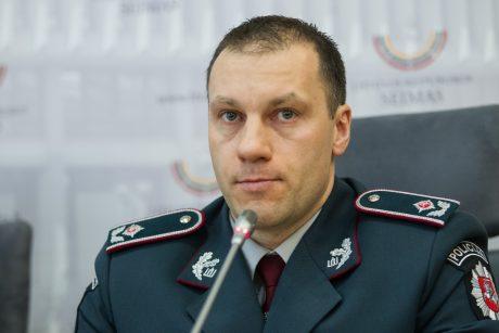 Generalinis komisaras paaiškino, kas lėmė nusikaltimų didėjimą