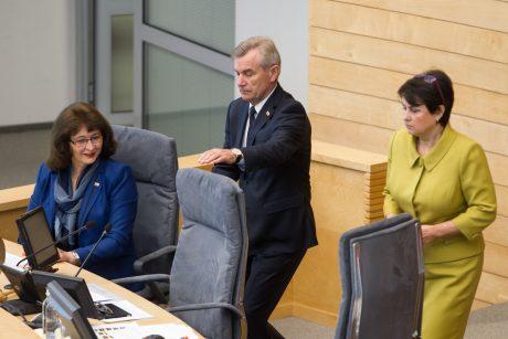 Kitą savaitę rengiamas nenumatytas Seimo posėdis