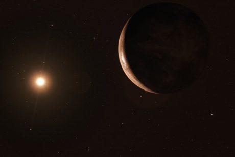 """Astronomai atrado aplink Saulės kaimynę skriejančią """"superžemę"""""""