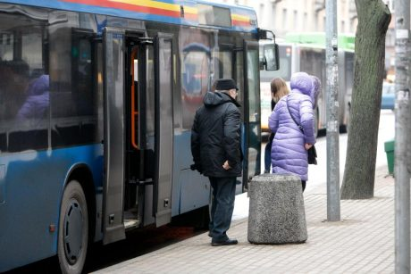 Klaipėdos keleiviai pasigedo garsinių pranešimų