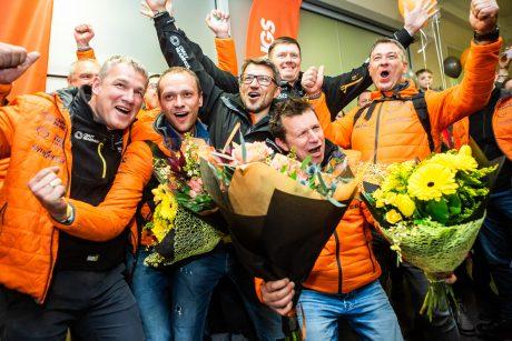 Vilniaus oro uoste pasitikti Dakaro ralio dalyviai