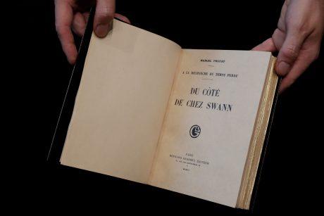 Reta M. Prousto knyga parduota už rekordinę sumą