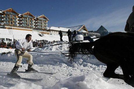 Lenkijoje iškrito pirmas sniegas