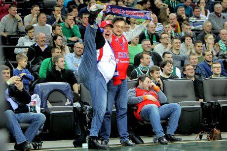 "Eurolyga: Kauno ""Žalgiris"" –  Maskvos CSKA 59:94"