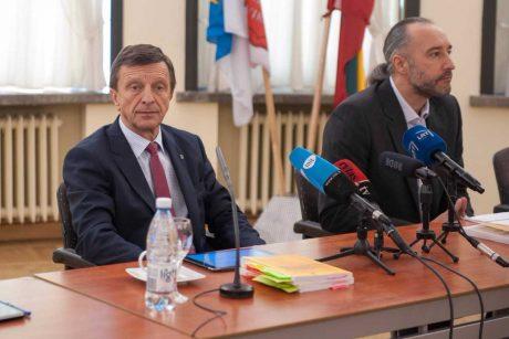 KTU rektorius P. Baršauskas pripažino padaręs klaidų
