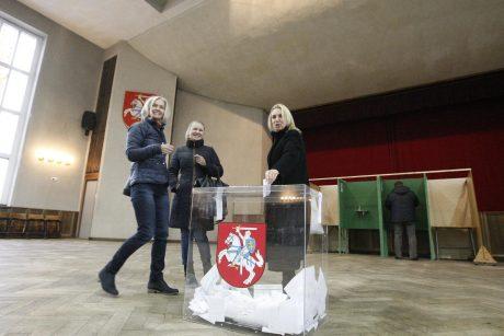 Klaipėdiečiai balsavo už politikos naujokus