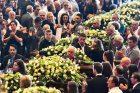 Genujoje sugriuvusio viaduko aukų laidotuvės