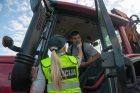 Policijos reidas Panerių gatvėje