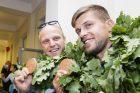 Į Lietuvą sugrįžo olimpiečiai