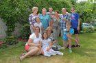Amerikos lietuvės šeimos akimirkos