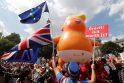 Protestas Londone prieš D. Trumpo vizitą