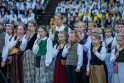Klaipėdą užliejo dainų šventės garsai