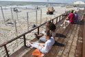 Paplūdimyje – dingusių merginų paeiška