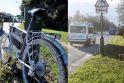 Pokyčiai: šalia Svijanės ežero žūties vietoje keletą mėnesių stovėjęs dviratis sukėlė vairuotojų aistras.