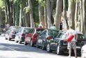 Išlaidos: šiemet Palangoje už automobilių stovėjimą renkamas mokestis visose gatvėse į vakarus nuo Vytauto gatvės.