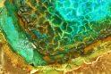 """E.Rasiuko paveikslas """"Transcendencija"""" (fragmentas)."""