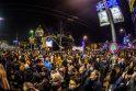 Protestai prieš Serbijos prezidentą išplito po visą šalį