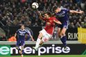 """Europos lyga: """"Manchester United"""" iš Belgijos išsivežė tik lygiąsias"""