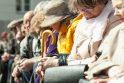 Mitinge pensininkai guodėsi, kad valstybė juos apvagia