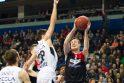 "Europos taurė: ""Lietuvos rytas"" - ""Partizan"" 93:75"