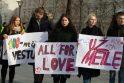 Meilės dieną premjeras ragina grįžti prie gėjų partnerystės klausimo
