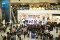 Masinis apsipirkimas subūrė per tūkstantį studentų