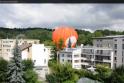 Vilniuje - avarinis oro baliono nusileidimas tarp daugiabučių (papildyta)