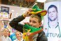Basakojai krepšinio fanai - eilėje prie rinktinės batelių