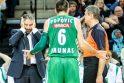 Įsibėgėjusio CSKA garvežio nuo bėgių nuversti nepavyko (komentarai)